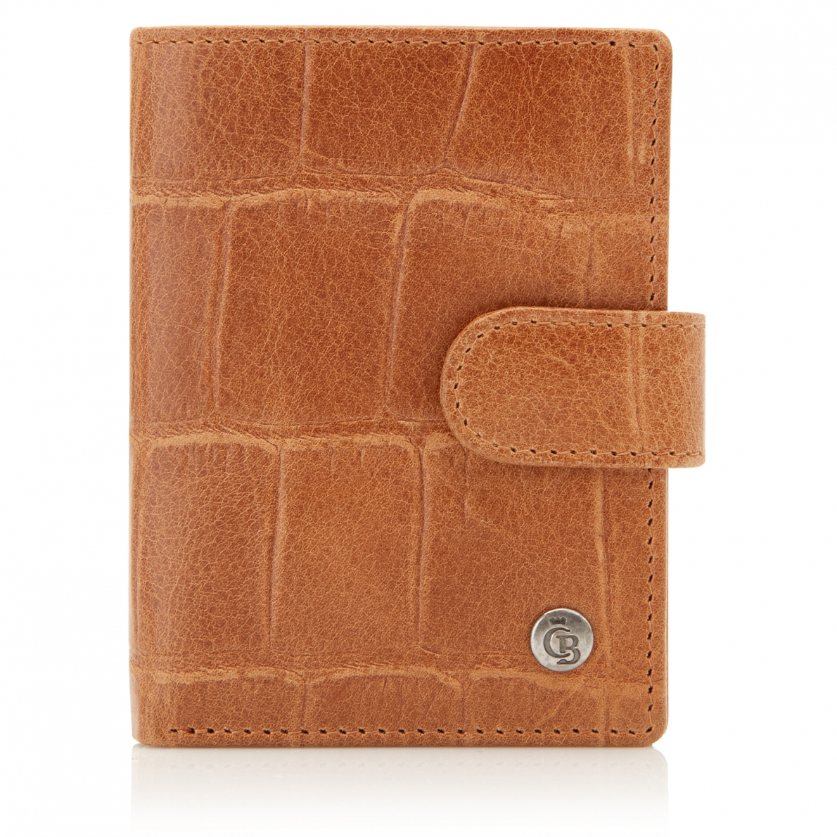 Castelijn & Beerens Cocco Mini Wallet Light Brown
