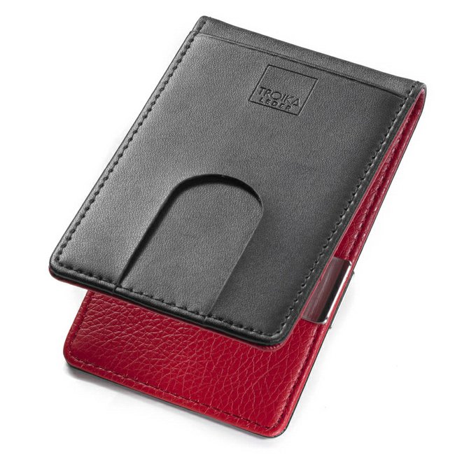 Troika 3 Card Wallet RED PEPPER