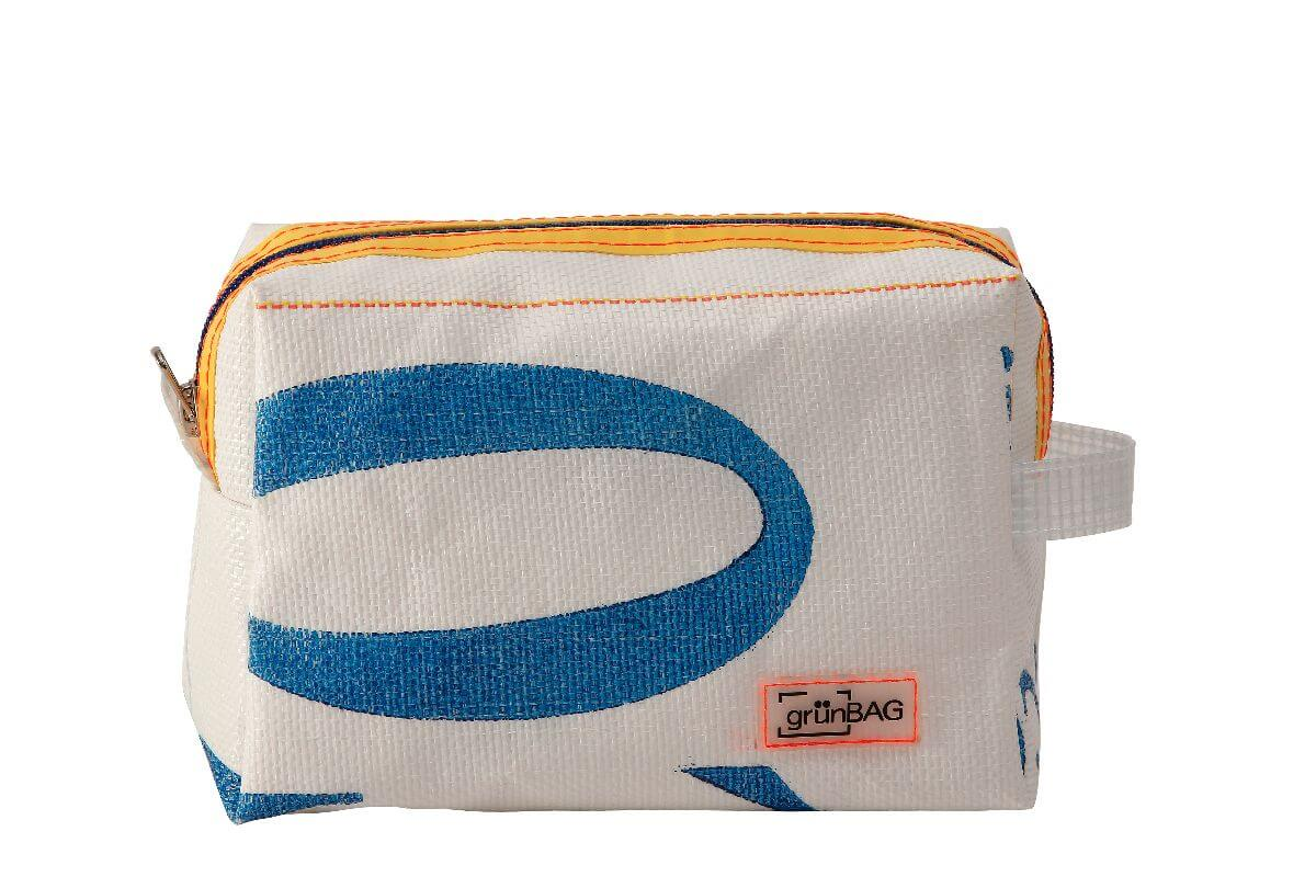 grünBAG Toiletry Small White