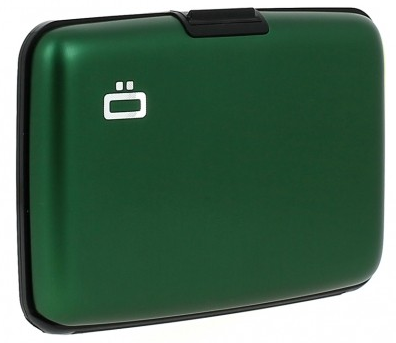Ögon Card Case Green