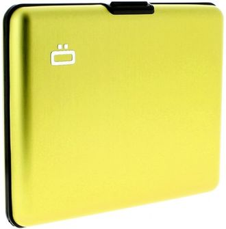 Ogon Card Case Large Green Lime