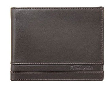 Samsonite Budget Billfold 5 Cards 1,5 Window Black